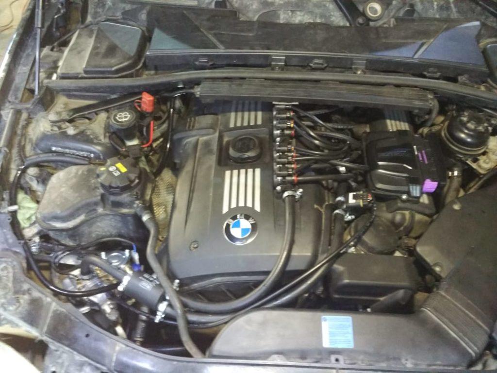 Установка ГБО Пропан на BMW-325