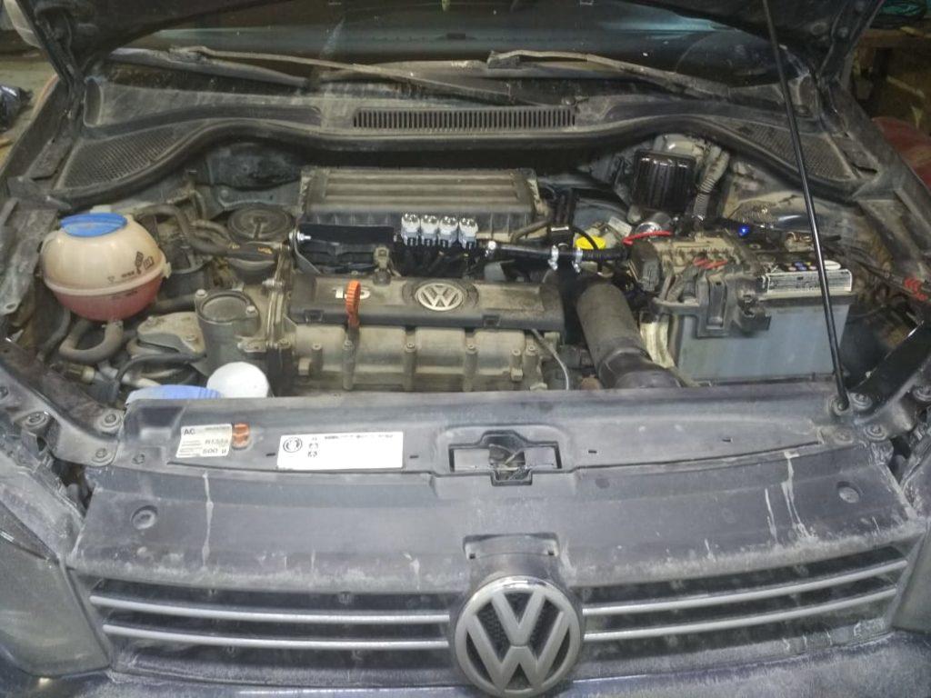 Установка ГБО Пропан на Volkswagen Polo