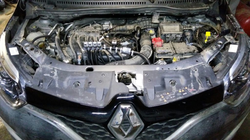 Установка ГБО Пропан на Renault Kaptur