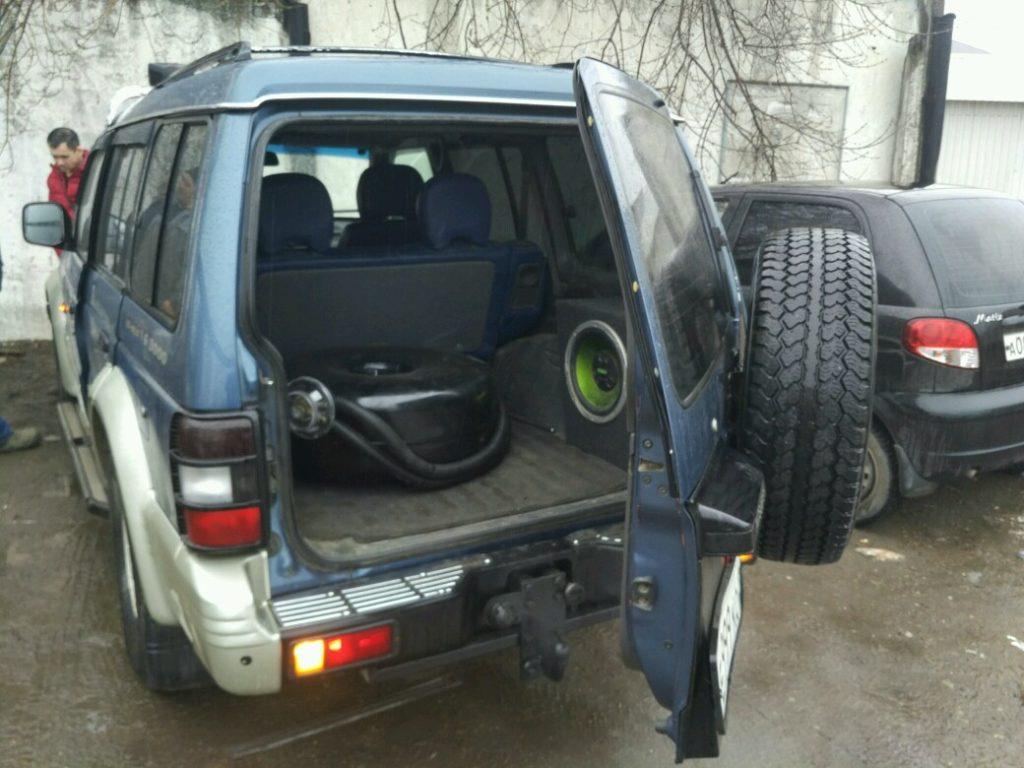 Установка ГБО Пропан на Mitsubishi Pajero
