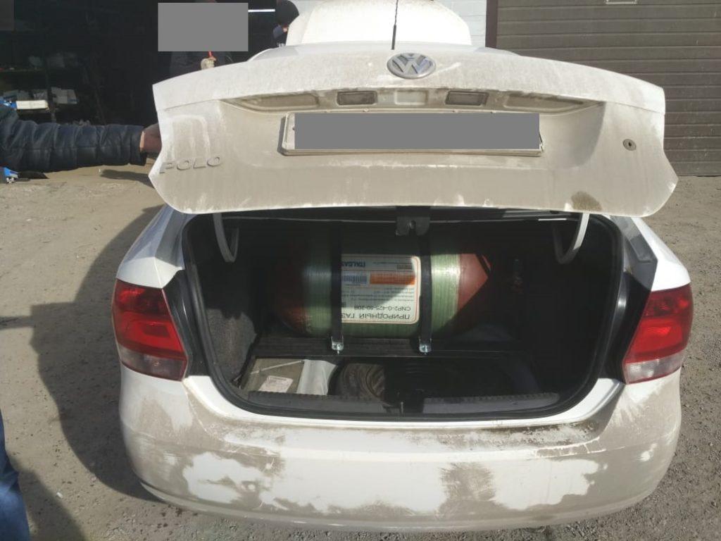 Установка ГБО Метан Volkswagen Polo