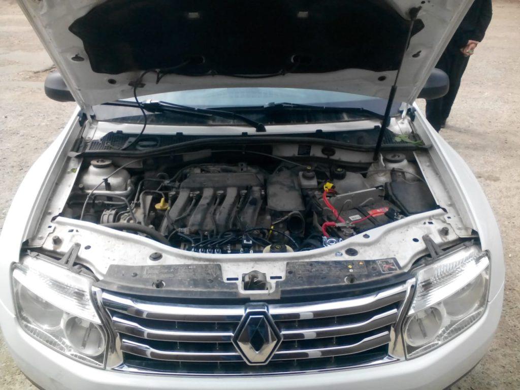 Установка ГБО Пропан на Renault Daster