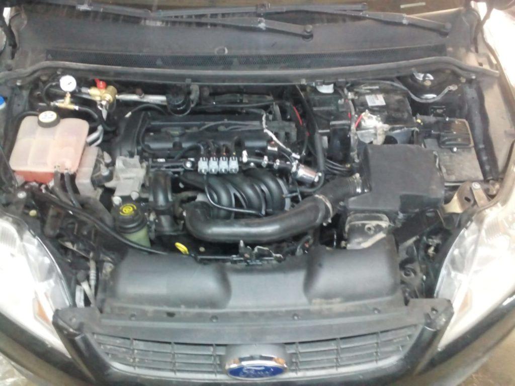 Установка ГБО Метан на Ford Focus