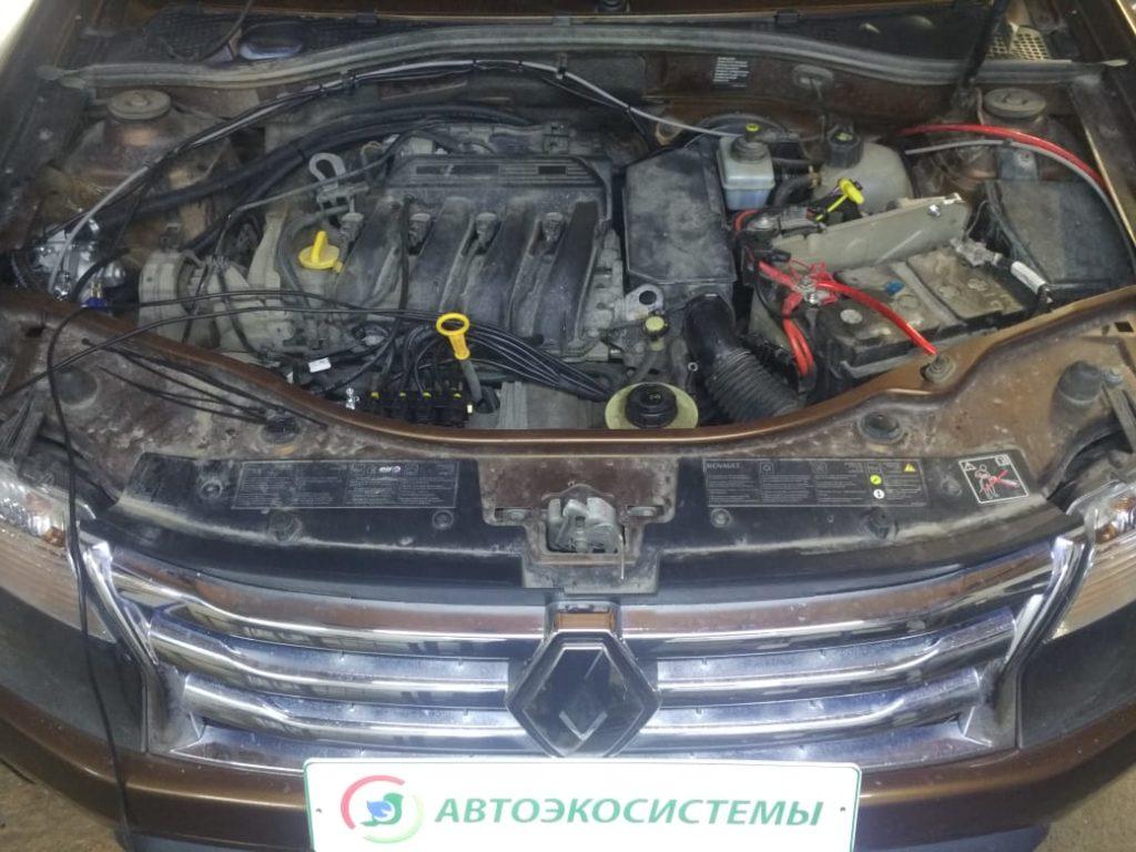 Установка ГБО Пропан на Renault Duster