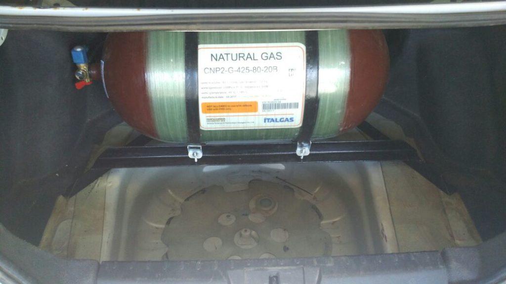 Установка ГБО Метан на Geely Emgrand