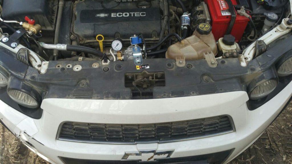 Установка ГБО Метан на Chevrolet Aveo