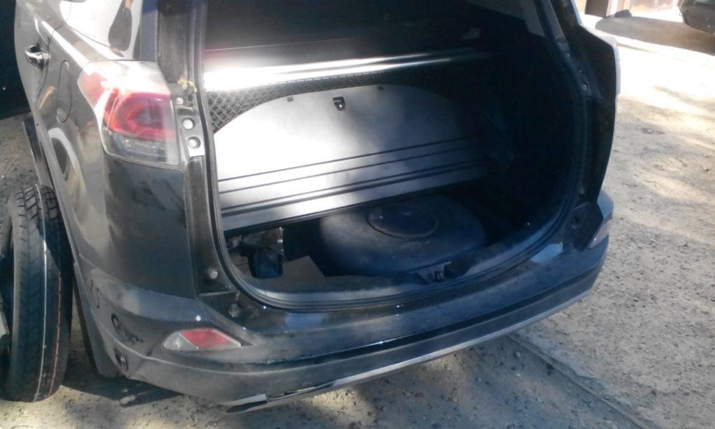 Установка ГБО Пропан на Toyota Rav4